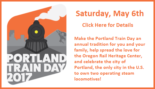 Click here for details about Portland Train Day